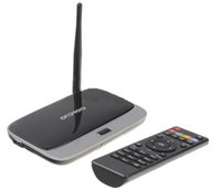 ingrosso antenna tv android-Android 5.1 TV Box CS918 Full HD 1080P RK3229 Quad Core Lettore multimediale da 2 GB 8 GB Antenna WiFi 2Pz UP