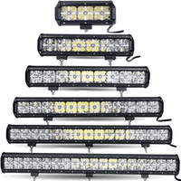 Wholesale 11 Inch Led Truck Light - 7 12 17 23 28 34'' inch 7D LED WORK OFFROAD COMBO FOG DRIVING LAMP LIGHT BAR 4x4 SUV DRL 4WD TRUCK LAMP 36W 72W 108W 144W 180W 216W