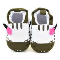 Wholesale Wholesale Dairy Cow - Cute Novelty Baby Boys Shoes Winter Soft Cotton Baby First Walker Green Dairy Cows Boy Infant Toddler Keep Warm Thick shoes