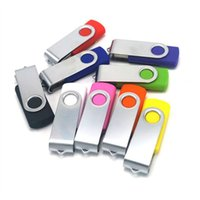 256 GB 128 GB 64 GB USB 2.0 Flash drive giratorio Pen Memory Stick USB unidad de memoria flash Flash clave de metal Pen drives Sticks