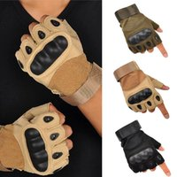 Wholesale New Outdoor Sports Fingerless Full Finger Military Tactical Ski Gloves s1164