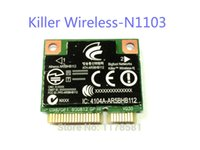 Wholesale wifi card pci express - Wholesale- killer wireless N1103 AR5BHB112 450M Wireless wifi card dual-band Better than the intel 6300