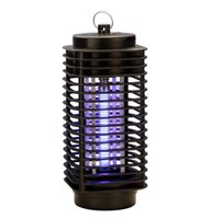 Wholesale Wholesale Electric Lanterns - 110V 220V Electric Mosquito Bug Zapper Killer LED Lantern Fly Catcher Flying Insect Patio Outdoor Camping lamps 30pcs lot