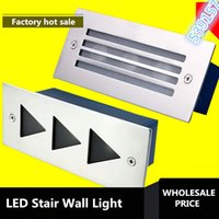 Wholesale taiwan switch resale online - price Super led stair light w indoor stair lighting for corner wall taiwan led epistar lm w AC85 V