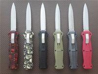 Wholesale Good Survival - 10 styles BM 3300 3300BK 3310BK Infidel tactical Knife double   Single edge good action Plain EDC pocket survival knife knives C07 D07