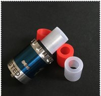 Wholesale Disposable Cover Caps - Wide bore Silicone Drip Tip cover plastic Silicone Mouthpiece Disposable Rubber Test Tips Cap Tester For Atlantis arctic subtank atomizer ..