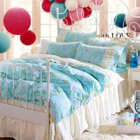 Wholesale King Comforter Sets For Cheap - Cheap Princess Bedding set 100% Cotton Christimas Gift For Child baby Bedding Set 2017 New Arival