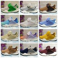 Wholesale Cheap Green Socks For Women - 2018 New Sock Dart Running Shoes Men Women For Sale Cheap Classic White Blue Gradation Portable Socks Shoes Outdoor Walking Sneakers