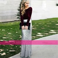 Wholesale Christmas Cocktail Dresses For Women - 2017 Fall Winter Christmas Halloween New Year Special Occasion Evening Dresses Long Maxi Holiday Party Cocktail Gowns for Women Girls Sale