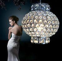 Wholesale Led Chinese Ce Rohs - Chinese lanterns style led crystal lamp AC85-265V 5w romantic lantern led single pendant light for bedroom,study room