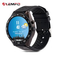Compra Supporto Mappa-LEMFO kw88 Android 5.1 Smart Watch 512 MB + 4 GB Bluetooth 4.0 WIFI 3G Smartwatch Telefono Orologio da polso Supporto Google Voice GPS Map