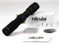 Wholesale Pocket Scope - Nikula Zoom Monocular Binoculars Telescope 10-30X25 MINI Small Trumpeter Pocket Hd wide-angle High Power Internal Focusing Scope