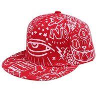 Wholesale Wholesale Youth Snapbacks - hip hop baseball cap snapback hats for youth men women,3 eye cat demon print & diamond & Cross flat caps,bone masculino
