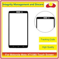Wholesale Maxx Bar - For Motorola Moto Droid Turbo XT1254 XT1225 Moto Maxx & Droid Ultra XT1080 Maxx XT1080MFront Outer Glass Lens Touch Screen Panel Digitizer