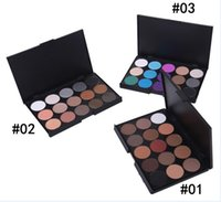 ingrosso fumo trucco degli occhi-15 colori Nude Smoked Pearl Ombretto Shimmer Eyeshadow Makeup Palette Set Eye Shadow