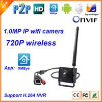 Wholesale Ip Camera Function - 720P 1.0MP Mini wireless Hidden Spy micro Pinhole wifi IP Camera P2P function home security IP camera