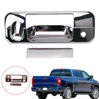 Wholesale Handle Accent - Triple Chrome Plated ABS Tailgate Handle Cover Trim Accent with Camera Hole For TOYOTA TUNDRA 2007-2013 RC013