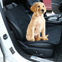 Dog Front Seat Cover Blanket Waterproof Cushion Protector Conveniente Travel Car Mat à prova de vento Eco-friendly Respirável All Seasons Pets