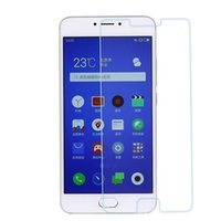 Wholesale Shipping Meizu - 1piece for meizu note3 tempered glass screen protector, 0.26mm, 9H, 2.5D, anti-shatter, anti-fingerprint, Paper box, OPP bag, free shipping