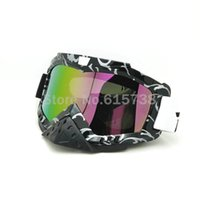 Adulte équitation Lunettes Moto Racing Motocross Cross Country MX DIRT ROAD Goggle Flexible