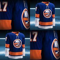 Wholesale Prince Golds - 2017-2018 Season Custom John Tavares Cal Clutterbuck Casey Cizikas Anders Lee Brock Nelson Shane Prince Alan Quine New York Islanders Jersey
