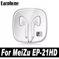 Wholesale Original Meizu Mx2 - Original Meizu Earphone EP21 HD MX2 Mx3 Mx4 MX5 Pro 5 Meilan Earphone for Meizu m1 m2 note ep21hd ep-21hd iPhone Earphone