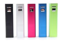 ingrosso banca di potenza della batteria migliore-La migliore vendita 2600mAh universale USB Power Bank Caricabatteria di backup esterno Caricabatteria da viaggio di emergenza per cellulare IPhone