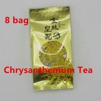 Wholesale Top Grade Bag China - Freeshipping 8 Bag Top Grade New China Genuine WUYuan Chrysanthemum Tea Refreshing aromatic Flower Tea Blooming Tea