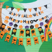Wholesale Halloween Pumkin - Halloween Holidays Pumkin Bat Decor Kids Fun Party Decoration Supplies Event Supplies Halloween Decoration Free Shipping