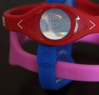Wholesale Silicone Animal Bands - Free shipping 32 colors 5 sizes silicone with hologram bracelets power bands balance energy wristband 400Pcs lot with boxes