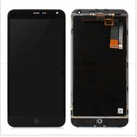 Wholesale m1 touch - Wholesale- 100% testedHigh Quality New LCD Display +Digitizer Touch Screen Assembly For Meizu M1 Note phone 5.5 inch Black With Frame Tools