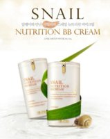 Wholesale Snail Nutrition Bb Cream - Snail Nutrition BB Cream Blemish Balm Sunscreen SPF45PA Concealer Moisture Whitenning Anti Wrinkle Skin Care Face BB Cream 40g