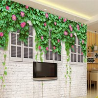 Extraordinary 3d Large Mural Wallpaper Living Room Sofa Bedroom Study  Background Wall Simple Non Woven Flowers Rose Roses Wall Cloth UK Part 61
