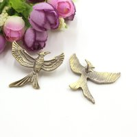 Wholesale Cheap Hunger Games - New Arrival The Hunger Games 3 Antique Bronze Birds Brooches Pins Cheap Wholesale Classic Vintage Women And Men Brooch Pins Gift