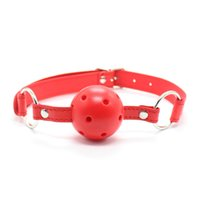 Wholesale Breathable Gag - Breathable Ball Mouth Gag Bound Gagged Harness