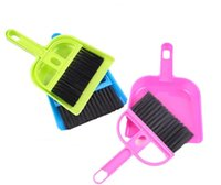 Pet Cleaning Supplies Moda Multifuncional Mini escova e conjunto de poeira Limpeza Pet Poo Cleaning Poop Scoop Dog Accessories Frete grátis