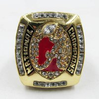 Wholesale Rings Tide - 2011 Alabama Crimson Tide National Championship Ring solid as men best gifts high quality