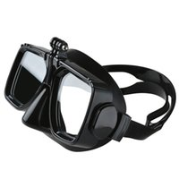 Wholesale underwater head camera online - Factory price for waterproof Accessories Underwater Glass Diving Mask for Sports Action Camera SJ4000 xiaomi yi