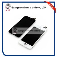 Wholesale Original Apple Products - 10 PCS China Factory Supply Complete OEM Original LCD Screen For Iphone 5 WNX Original Product With Special Discount lcd screen for iphone