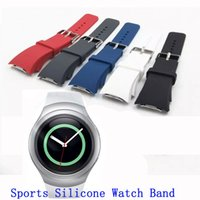 Vente en gros-Nouvelle Collection Sport Band silicone de style pour Samsung Galaxy S2 Vitesse montre Smart Watch