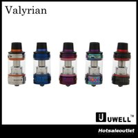 Wholesale Tank Refill - Authentic Uwell Valyrian Tank 5ml Top Refilling Vape Sub Ohm Atomizer with Interchangeable Coil Pins 100% Original