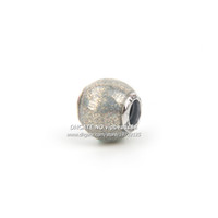 Novo 2017 Grey Fashing Charm beads Prata 925 Sterling para Pandora charme Braceletes Beads Jewelry Making
