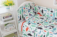 Wholesale Baby crib bedding set cotton bedclothes bed decoration include pillow bumpers mattress