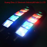 nachtclub bewegte scheinwerfer großhandel-Heißer Verkauf 8 STÜCKE * 3 Watt RGB Mini LED Spinne Moving Head Licht für Disco Dj Nachtclub DMX 7CH / 13CH