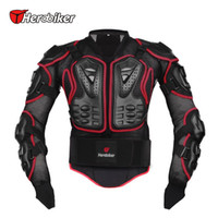 Wholesale Motocross Chest Protection - Herobiker Motorcycle Full Body Armor Jacket Motorcycle Armor Spine Chest Protection Gear Motorcycle Protective Motocross Armor