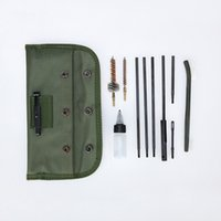 Wholesale Gun Brush Cleaning Set Kit - New Tactical M16 Rifle Gun Cleaning Kit Set Cleaning Rod Nylon Brush Cleaner Accessories Clean Tools