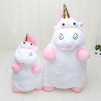 Wholesale Despicable Fluffy Unicorn Plush - Wholesale-56cm 40cm Despicable Me Unicorn Plush Toy Licorne Fluffy Unicorn Juguetes Brinquedos Stuffed Animals Doll Figure For Kids