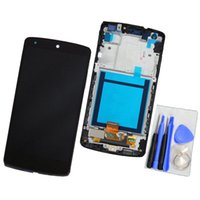 Wholesale Nexus Repairs - Original for lg google nexus 5 lcd digitizer replacement d820 d821 black touch screen assembly repair display with frame
