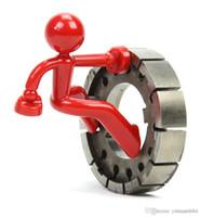 Wholesale Climbing Holds Wholesale - Wall Climbing Man Magnetic Key Holders Key Pete Boy Keychain Fridge Magnets Novelty Holds up to 30 keys free shipping