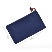 Wholesale waterproof key pouch - 21.7*14.4CM Waterproof 160D Oxford Cloth Storage Bags Drawstring Cellphone Sundries Tool Key Headphone Coin Pouch ZA4891